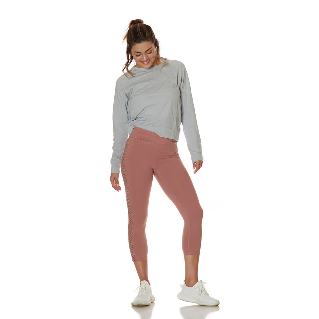 The Tash Leggings Dusty Rose - bodyloveathletica