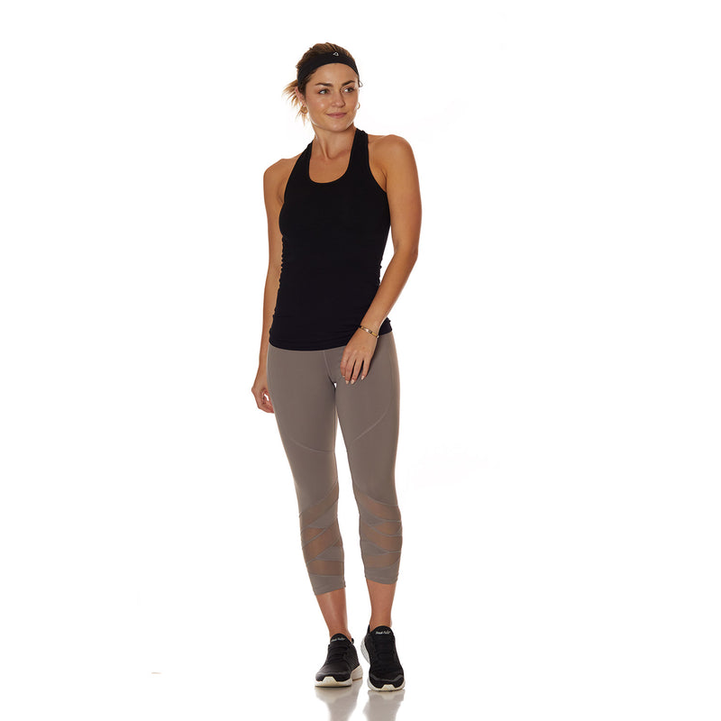 The Vamp Capri Leggings Grey