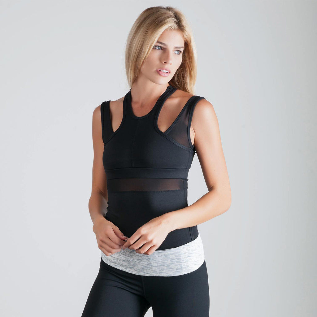 Virtue Tank Black - bodyloveathletica