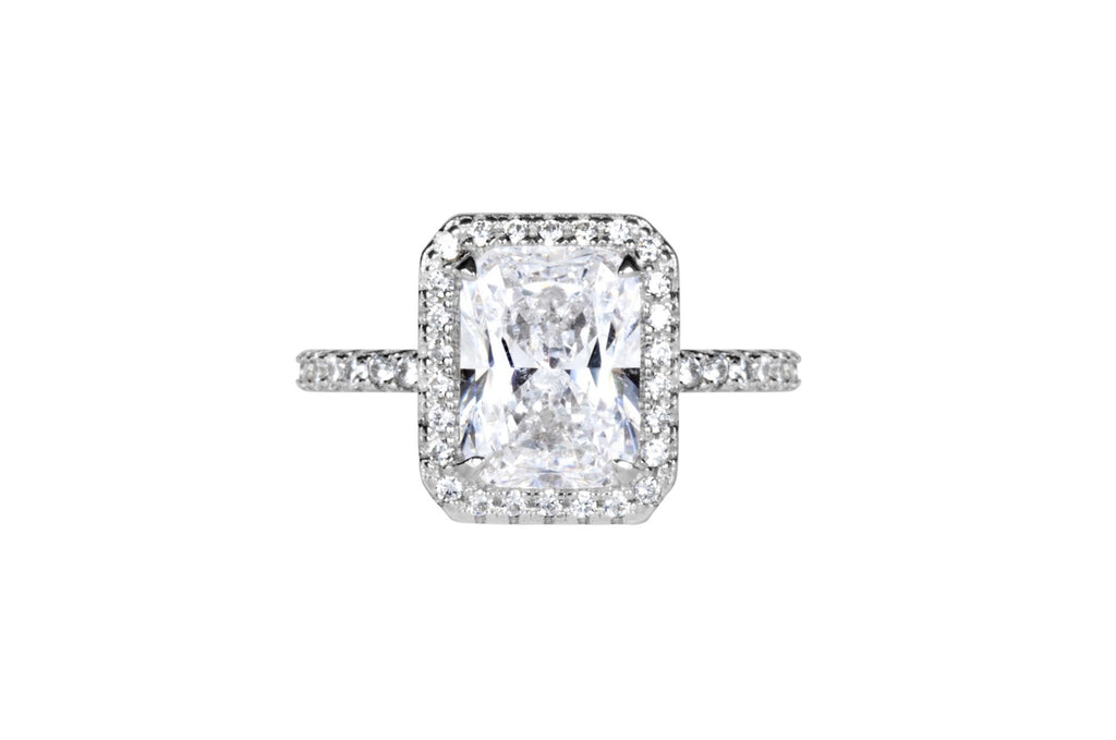The Tatum Ring (2 Carats, Radiant Cut)
