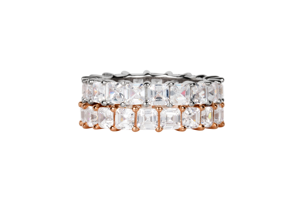 The Asscher Band (2 Carat)