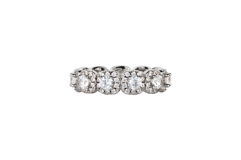 The Leighton Dome Band (1 Carat)