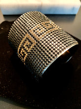 Load image into Gallery viewer, Egyptian rhinestone cuff bracelet