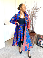Load image into Gallery viewer, Artsy ( Print Jacket Dress )