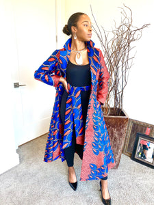 Artsy ( Print Jacket Dress )