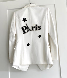 Off-white Paris sports jacket