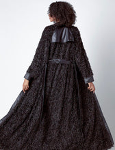 Load image into Gallery viewer, Ostrich fur Maxi Coat