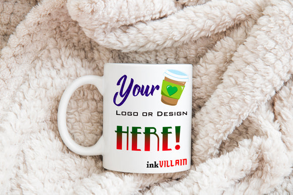 Win A Personalized 11 Ounce Coffee Mug From Ink Villain!