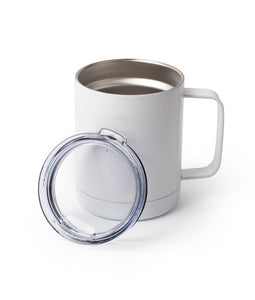10 Ounce Stainless Steel Travel Mug