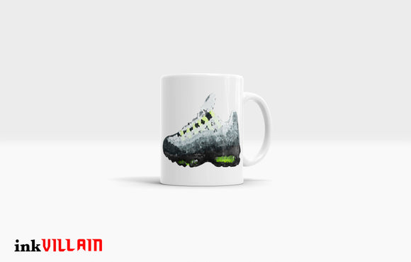 Air Max Nine-Five Crystalized Coffee Mug