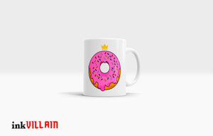 Donut Royalty Coffee Mug