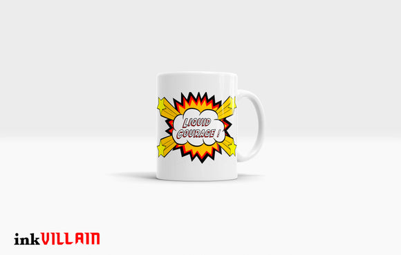 Liquid Courage Coffee Mug