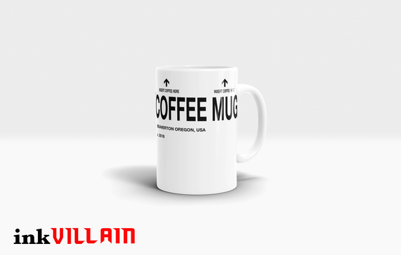 Knock OFF Inspired Coffee Mug