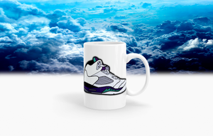 "Retro 5 ""Grape"" Coffee Mug"