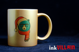 Christmas Hipster Coffee Mugs