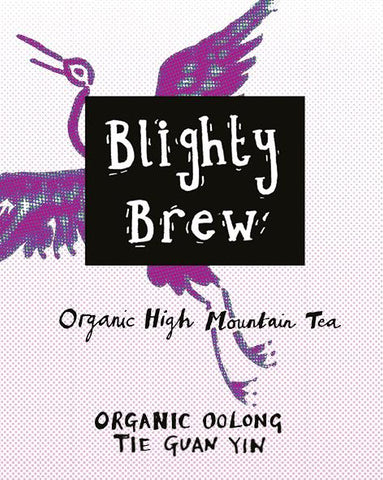 Blighty Brew Organic Tie Guan Yin Loose Leaf Oolong Tea 100g and 1/2 Kg
