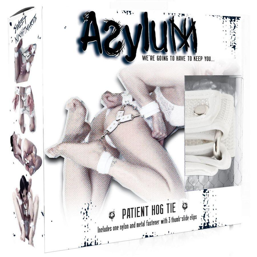 BDSM, Handcuffs - ASYLUM PATIENT HOG TIE