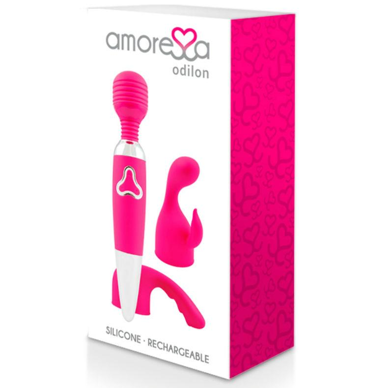 Hor Her, Magic Massager Wands - AMORESSA ODILON PREMIUM SILICONE RECHARGEABLE