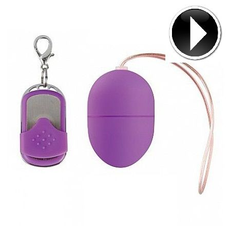 VIBRATING SMALL SIZE 10 SPEED REMOTE CONTROLLED