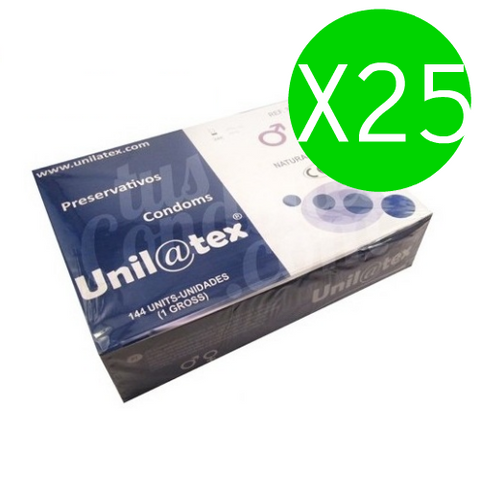 UNILATEX - NATURAL PRESERVATIVES PACK 25 X 144 UNITS