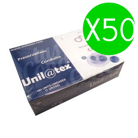 UNILATEX - NATURAL PRESERVATIVES PACK 50 X 144 UNITS