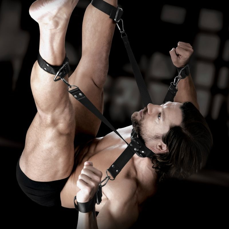 SIR RICHARDS - COMMAND - HOGTIE AND COLLAR SET