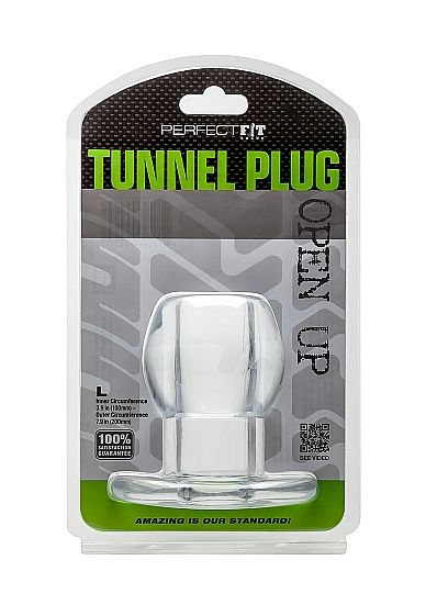 PERFECT FIT ASS TUNNEL PLUG SILICONE L