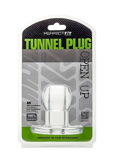 PERFECT FIT ASS TUNNEL PLUG SILICONE M