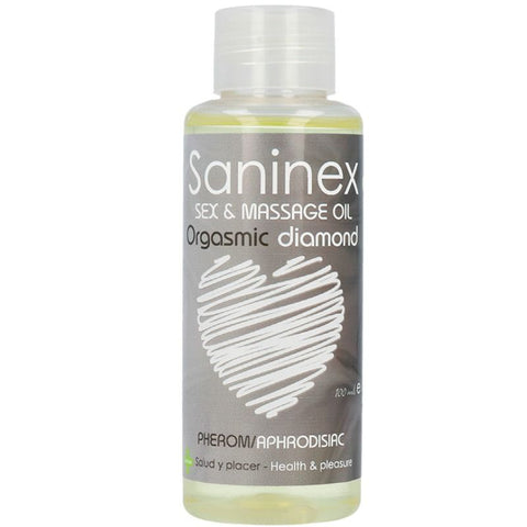 SANINEX ORGASMIC DIAMOND SEX AND MASSAGE OIL 100 ML
