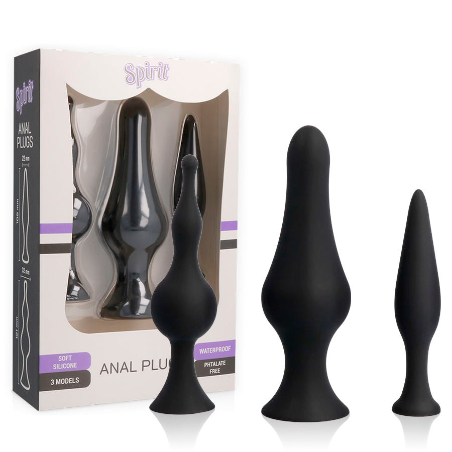 SPIRIT TRAINING ANAL PLUGS