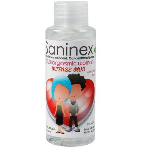 SANINEX MULTIORGASMIC WOMAN INTENSE PLUS 2 IN 1