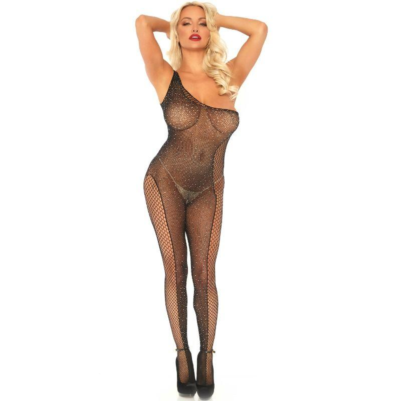 LEG AVENUE|LEG AVENUE BODYSTOCKINGS - LEG AVENUE FISHNET BODYSTOCKING ONE SIZE