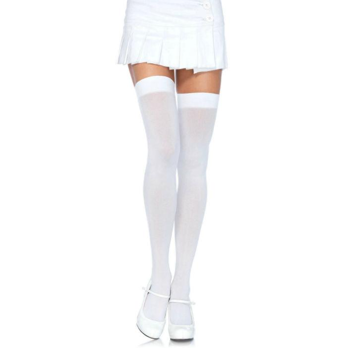 LEG AVENUE|LEG AVENUE HOSIERY - LEG AVENUE NYLON THIGH HIGHS