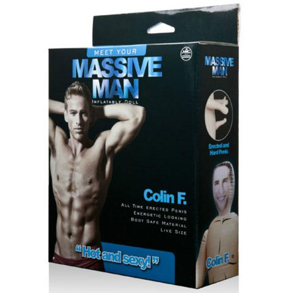 NMC TOYS - MASSIVE MAN DOLL COLIN F.