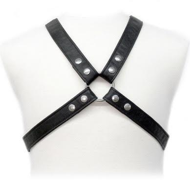 "<sale Value=""0"" /> - BODY LEATHER BASIC HARNESS IN GARMENT"