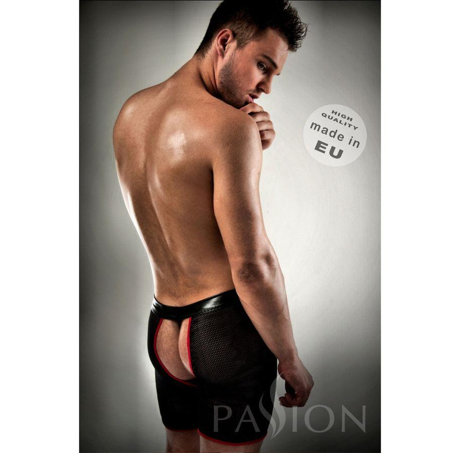 "<sale Value=""0"" /> - BOXER RED BLACK PASSION WITH THONG INCLUDED"