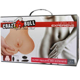 "<sale Value=""0"" /> - CRAZY BULL - REALISTIC ANUS AND VAGINA WITH VIBRATION POSTURE 7"