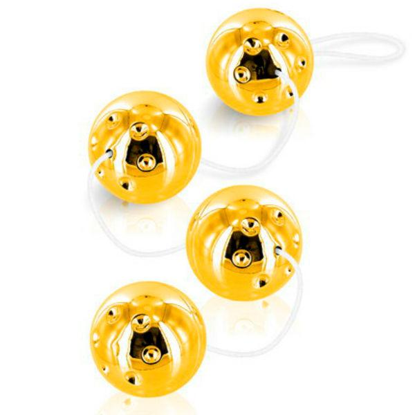 "<sale Value=""0"" /> - DUOBALLS GOLD 4 PCS"