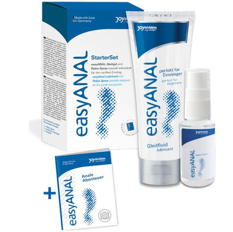 "<sale Value=""0"" /> - EASY ANAL STARTER SET  LUBRICANTE + RELAX SPRAY"