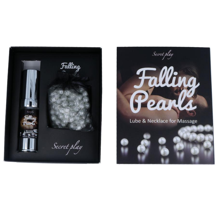 "<sale Value=""0"" /> - FALLING PEARLS - GEL AND NECKLACE FOR MASSAGE"