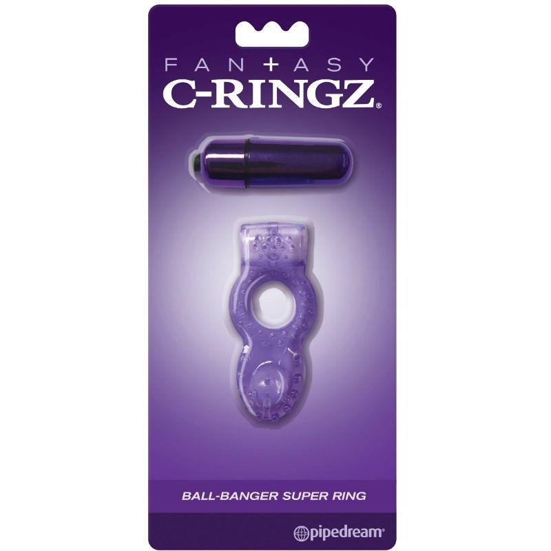 "<sale Value=""0"" /> - FANTASY C-RINGZ BALL-BANGER SUPER RING"