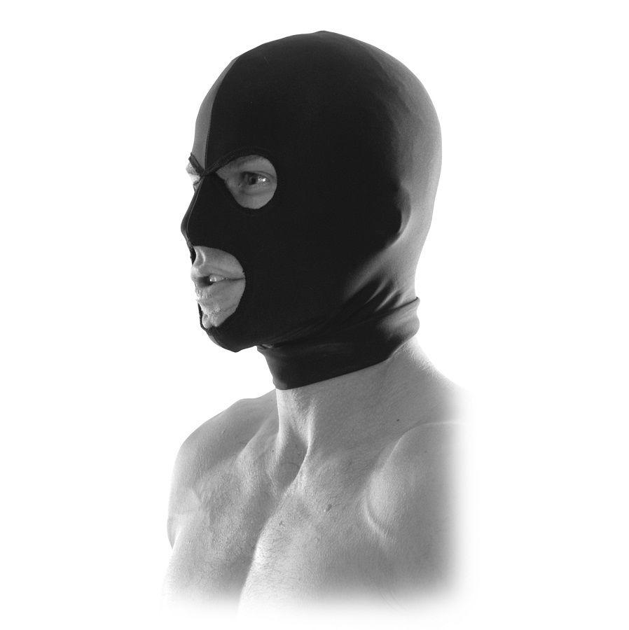 "<sale Value=""0"" /> - FETISH FANTASY LIMITED EDITION SPANDEX 3-HOLE HOOD"