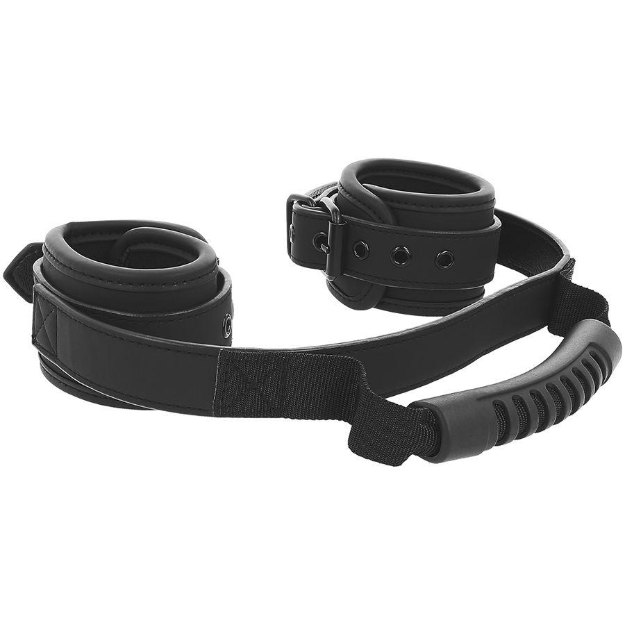 "<sale Value=""0"" /> - FETISH SUBMISSIVE CUFFS  WITH PULLER"