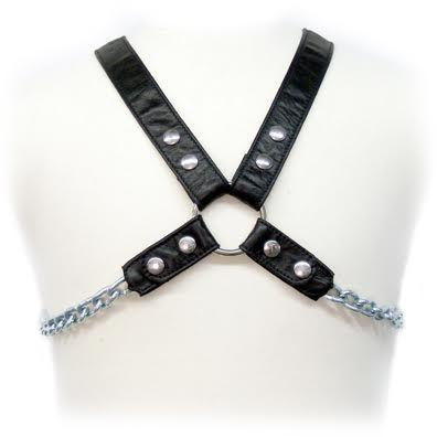 "<sale Value=""0"" /> - LEATHER BODY CHAIN HARNESS II"