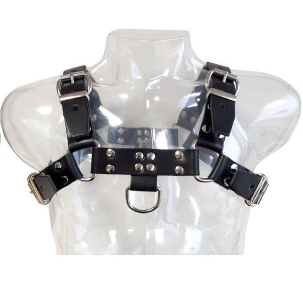 "<sale Value=""0"" /> - LEATHER BODY CHAIN HARNESS III"