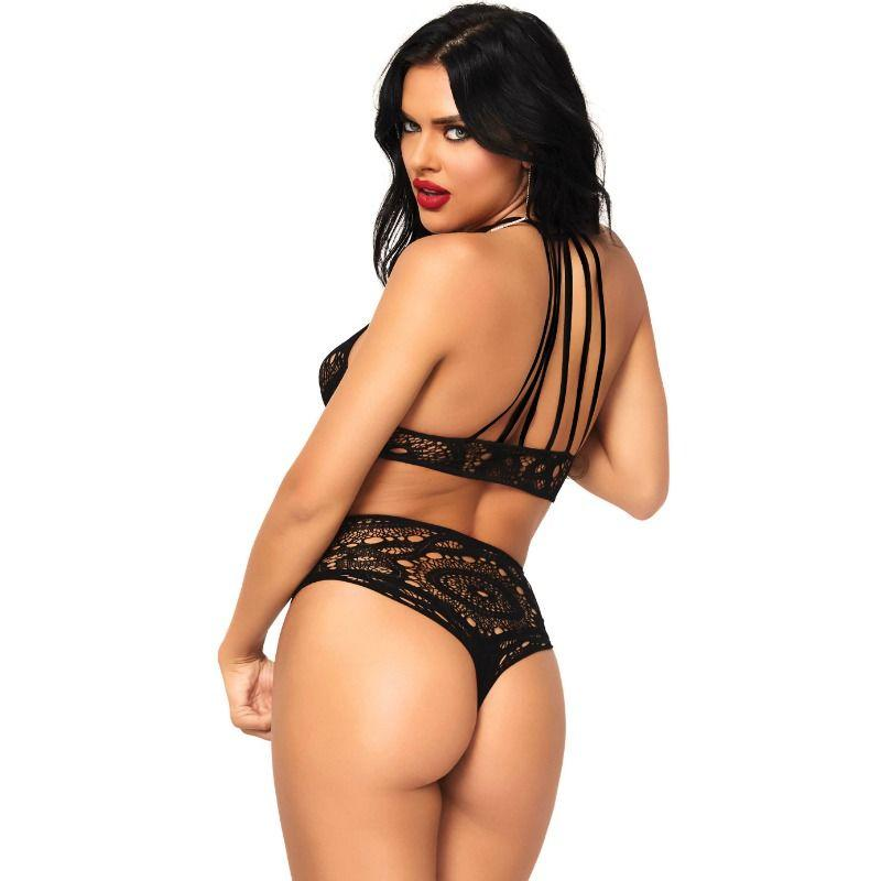 "<sale Value=""0"" /> - LEG AVENUE 2 PIECES SET TOP AND PANTIES"