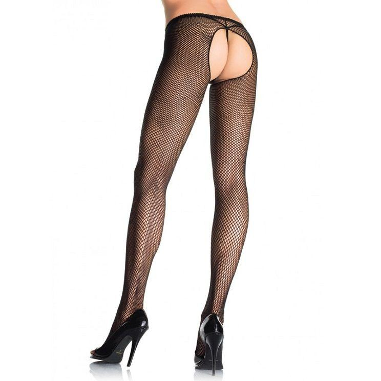 "<sale Value=""0"" /> - LEG AVENUE CROTCHLESS FISH NET  PANTYHOUSE"