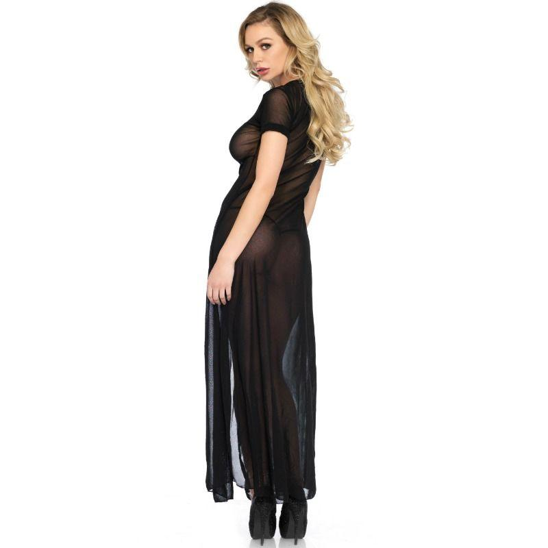 "<sale Value=""0"" /> - LEG AVENUE HIGH SLIT GOWN"