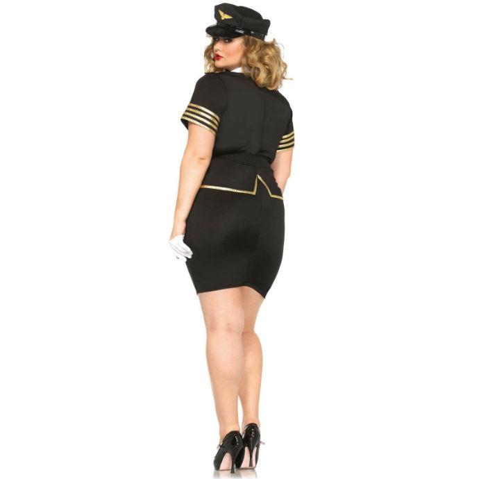 "<sale Value=""0"" /> - LEG AVENUE MILE HIGH PILOT PLUS SIZE"