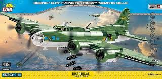 Cobi Boeing B-17F Flying Fortress Memphis Belle 5707